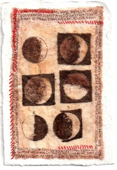 Ink drawing and red thread on teabag. From Galileo's notebook. Torah, Lecture Aura, Middle Ages History, Art Original, Oeuvre D'art, Drawings, Red, Etsy, Notebook