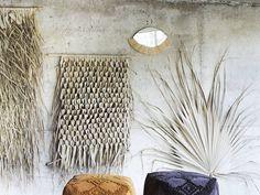 Seagrass and Palm Leaf Woven Wall Hangings | Homegirl London Hanging Bar, Boho Wall Hanging, Bamboo Wall, Bohemian Interior, London Lifestyle, Lifestyle Blog, Interior Walls, Wall Hangings, Animal Print Rug