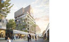 Ameller, Dubois et Associés - Architecture - Annemasse - Appartments and shops