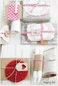 More cute wrapping...
