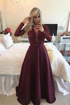 Image result for burgundy prom dresses