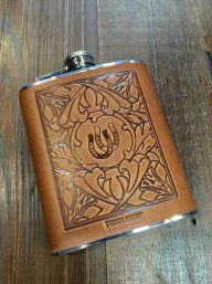Pendleton Horse Shoe Flask