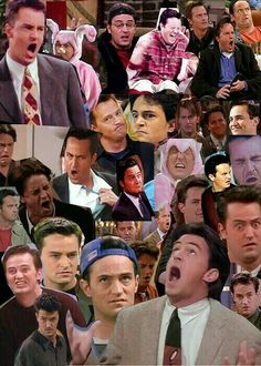 the many faces of chandler