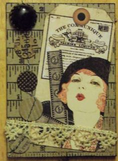 Tina Scraps's Gallery: vintage woman
