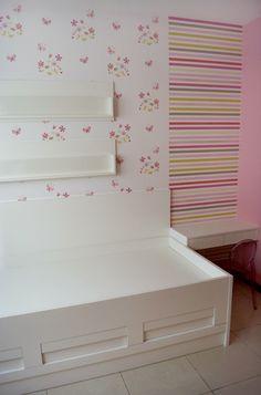 Decoração de quarto de menina feita por mim. Início da reforma.