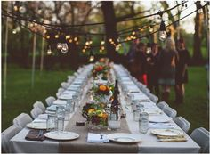 This is exactly what we want for a Paddock to Plate dinner party in our garden