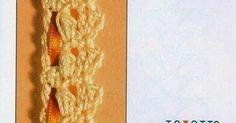 7 puntillas excelentes al crochet con esquemas