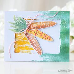 Throwback Thursday: Brushed Off - Autumn Blessings Card by Keeway Tsao for Papertrey Ink (September 2017)