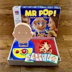 MB Games Mr Pop Complete Fully Working game match his face in this frantic race Family Game Night, Family Games, Mr Pop, Working Games, Game Quotes, Game Sales, Educational Games, Matching Games, Arcade Games