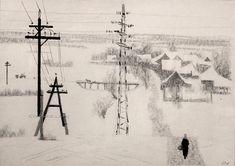 Верейский Орест Георгиевич (1915-1993) «Дорога на Жуковку» 1965