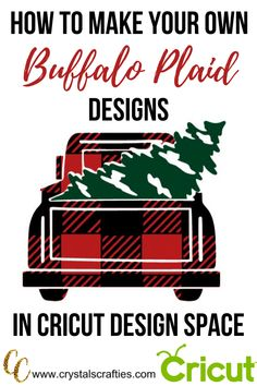 Creative Crafts, Diy And Crafts, Cricut Access, Cricut Tutorials, Cricut Ideas, Do It Yourself Crafts, Plaid Design, Mason Jar Crafts, Buffalo Plaid