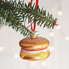 Egg Sandwich ornament