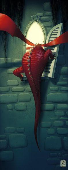 ✯~Enter the Dragon :: Artist Denis Zilber~✯