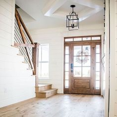 50 Best Farmhouse Entryway Design Ideas You Must Try In If you are looking for [keyword], You come to the right place. Below are the 50 Best Farmhouse Entryway Design Ideas You Must Try In Modern Farmhouse, Farmhouse Style, Farmhouse Stairs, Farmhouse Flooring, Farmhouse Ideas, Farmhouse Front Doors, Farmhouse Layout, Farmhouse Remodel, Wood Flooring