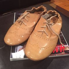 Brown Oxfords Re-List-Report Oxford Shoes-bought some time ago from off PoshMark-can't use them-why don't YOU buy them!!! Price Firm!!! Report Shoes Flats & Loafers