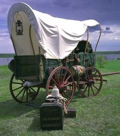 Covered wagon, Cross country transportation.
