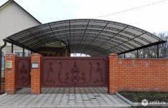 навесы из поликарбоната фото к частному дому своими руками: 20 тыс изображений найдено в Яндекс.Картинках