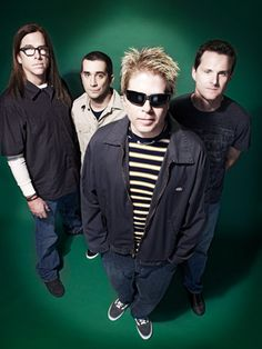 The Offspring - From GARDEN GROVE, California but thats not the only reason I love them. I have all these connections to them yet i've never met them but I did get to see them in concert.