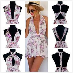 Moxeay® Different style Cross/Halter Straps Backless Sexy Jumpsuit Romper (M, Floral Printing) Moxeay http://www.amazon.com/dp/B00WDPKJQU/ref=cm_sw_r_pi_dp_yvi2wb0ZK9M1E