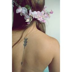 Spine Tattoos 45 Themes and Placement Ideas (With Pictures) ❤ liked on Polyvore featuring accessories and body art