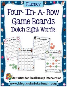 These cute little 4-In-A-Row templates have just been sitting in my computer files just waiting to be made into an activity. Last month I used the templates to create activities for sight words, but I know many of our kinders are now working on decoding CVC words and I wanted to make an activity specifically …
