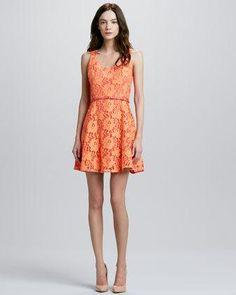 Chic beautiful print #dress