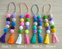 Pom pom bag charm Tassel bag charm Neon pink tassel bag charm Bag accessories Boho accessories Handbag charm Pom pom purse charm Colorful bag charm made of hand crafted pom poms and tassels. Perfect for summer and beach bags.  One size.  Length without a loop: approx. 8.6 inches / 22 cm  ♥ Heartmade item ♥  All my products come in a nicely crafted wrapping, so they are ready to be given as gifts.  Every piece of jewelry is made in a smoke and pet free environment.  Orders will be mailed ...