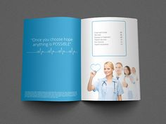 Medical Brochure Template On Behance  LayoutDesign