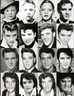 Elvis Presley from start to finish! What a beautiful gorgeous man!