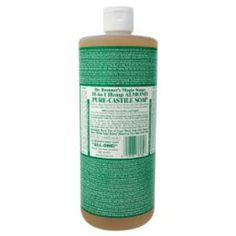All Natural Homemade Cleaners made from baking soda, hydrogen peroxide, vinegar, lemon juice, grapefruit oil and liquid castile soap Natural Cleaning Recipes, Homemade Cleaning Products, Natural Cleaning Products, Natural Products, Diy Cleaners, Cleaners Homemade, Household Cleaners, Cleaning Solutions, Cleaning Hacks