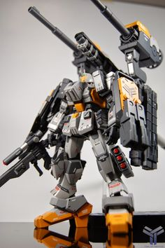 "1/144 EZ-8 ""Burst"" - Custom Build - Gundam Kits Collection News and Reviews"