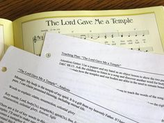 Primary chorister: How to prepare to teach a new song