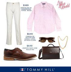 Arma tu #outfit con Tommy Hill y deslubra al mundo entero.