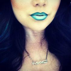 Makeup art lips