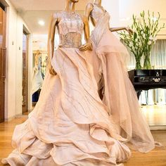 Romantic ruffles meet couture gowns for the modern day princess in you! Shop these signature styles by only at Aza. Lehenga Saree Design, Bridal Lehenga Choli, Girls Formal Dresses, Dresses Kids Girl, Lehenga Pattern, Frocks And Gowns, Lehnga Dress, Indian Gowns Dresses, Pakistani Bridal Wear