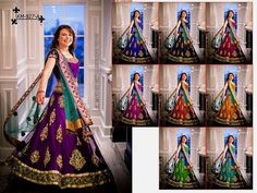 More Colour Choice Checkout this new arrival designer lehenga choli  Product Info : Lehenga- Two and half meter flair lehenga of heavy net with embroidery and patch work with inner santoon. Blouse- one meter banglori with embroidered work Duppata- Two meter net duppata with embroidered Work and also work border lace Size- semi stich with four latkan colours- purple and blue  create your own world of fashion  Price : 2300 INR Only ! #Booknow  CASH ON DELIVERY Available In India ! World Wide…