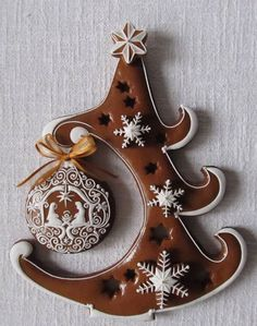 Learn how to create Easy Dollar Store Christmas Decorations with these amazing gingerbread house decor ideas that will add lots of festive cheer to your home! More ideas… Christmas Gingerbread House, Noel Christmas, Christmas Baking, Gingerbread Houses, Gingerbread Decorations, Gingerbread Cookies, Christmas Decorations, House Decorations, Fancy Cookies