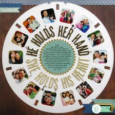 A Viewmaster Inspired Layout for Dads