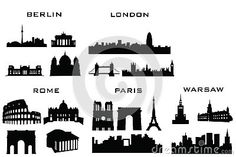 Silhouette Buildings - Download From Over 30 Million High Quality Stock Photos, Images, Vectors. Sign up for FREE today. Image: 34756979