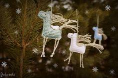 Podarёnka: Crochet horses