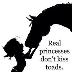 They kiss ponies