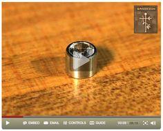 Bench Tip: Use a Split Mandrel for Finishing Round Bezels (video)
