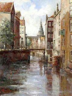 Amsterdam, De Kolk, Giclee