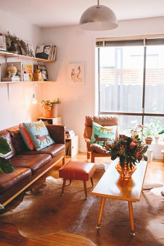 Gemma and Duncan's Dated Disaster Turned Modern Melbourne Apartment