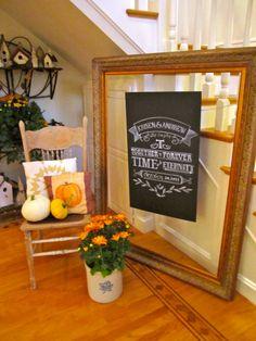 Display & Chalkboard design by TJ
