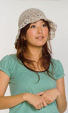Ravelry: 210-40 Summer Slub Hat pattern by Pierrot (Gosyo Co., Ltd)
