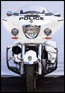 Victory police bike.......out with the Harley!