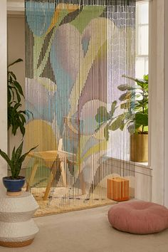 Shop Floral Bloom Oversized Bamboo Beaded Curtain at Urban Outfitters today. We carry all the latest styles, colors and brands for you to choose from right here.