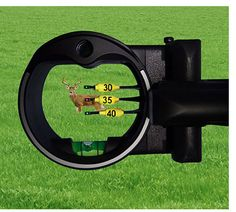Viewing a deer with Field Eye™ sight pin distance markers Bow Sights, Do It Anyway, Bow Accessories, Bow Hunting, Archery, Distance, Markers, Deer, Fishing