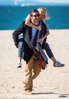 "Jake Gyllenhaal en 2014 sur le tournage de ""Demolition"""
